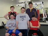 Youth Fitness Group Picture